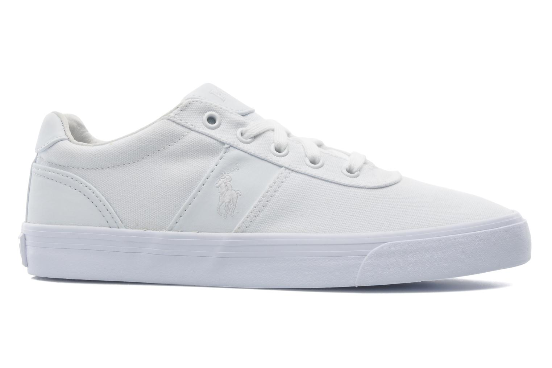Sneakers Polo Ralph Lauren Hanford canvas Wit achterkant