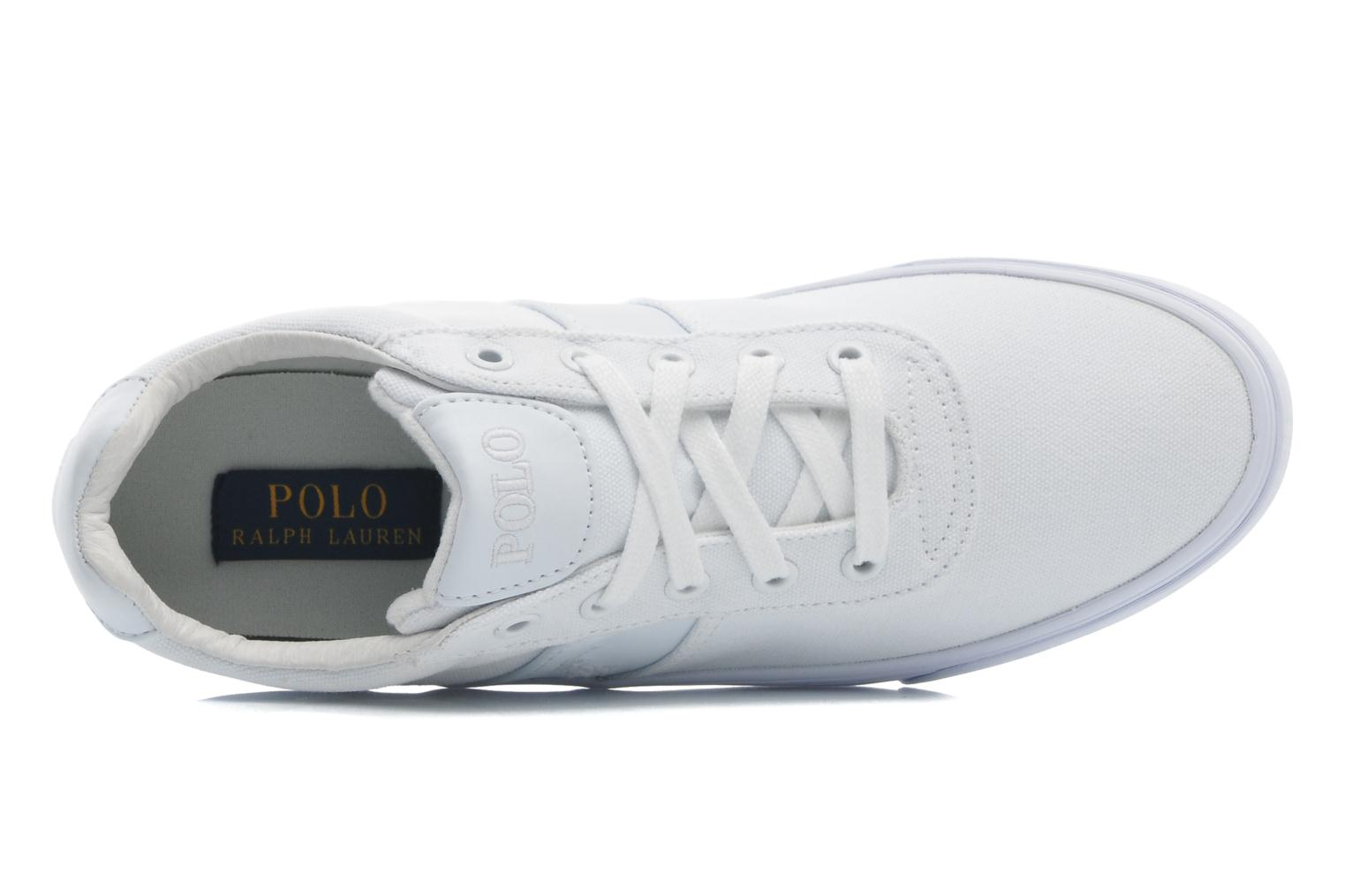 Sneakers Polo Ralph Lauren Hanford canvas Wit links