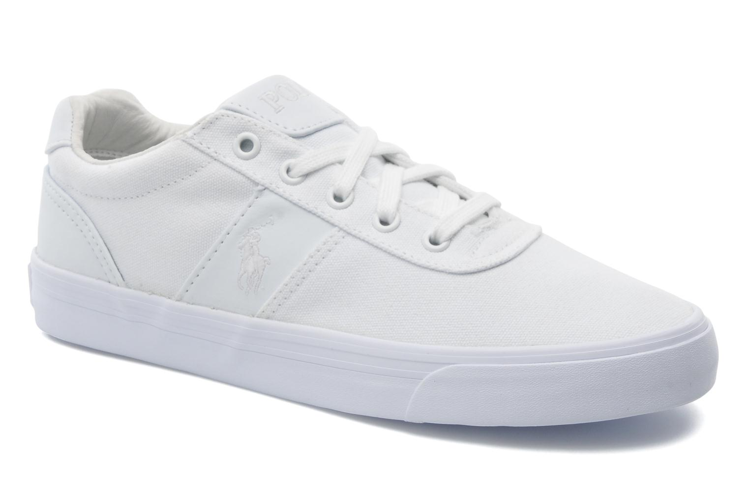 Sneakers Polo Ralph Lauren Hanford canvas Wit detail