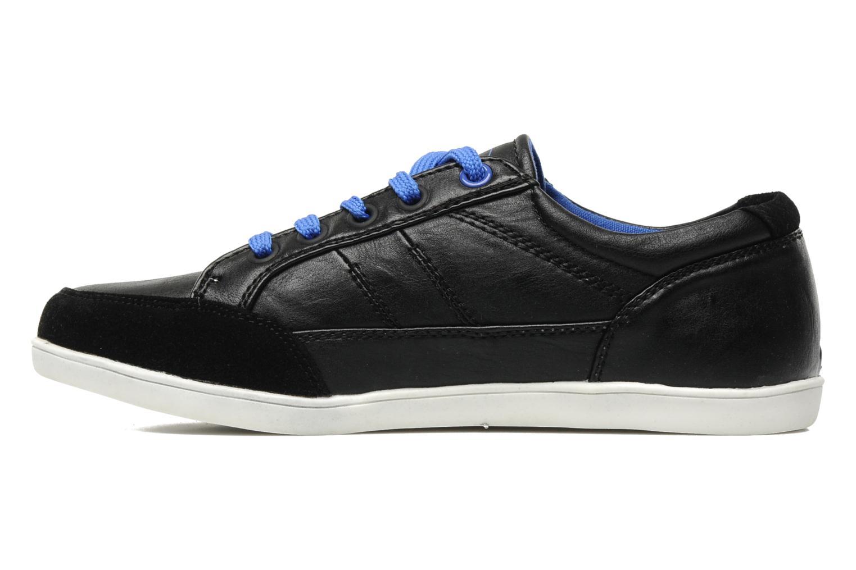 Sneaker I Love Shoes Jicolas schwarz ansicht von vorne