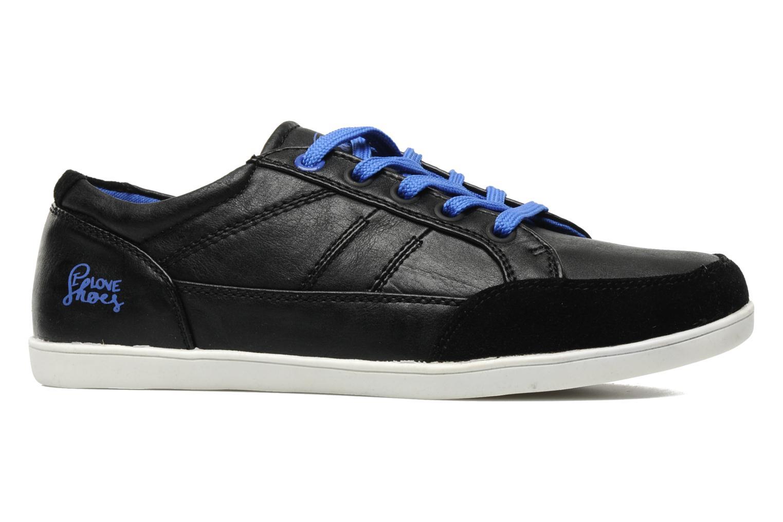 Sneaker I Love Shoes Jicolas schwarz ansicht von hinten