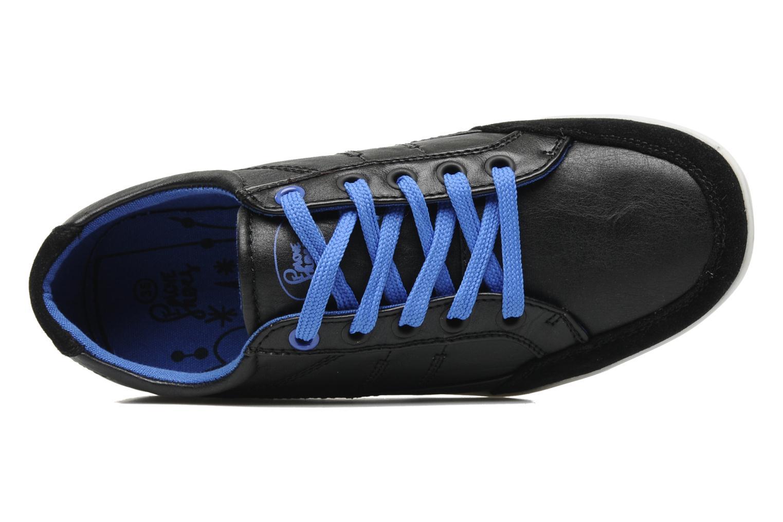 Sneaker I Love Shoes Jicolas schwarz ansicht von links