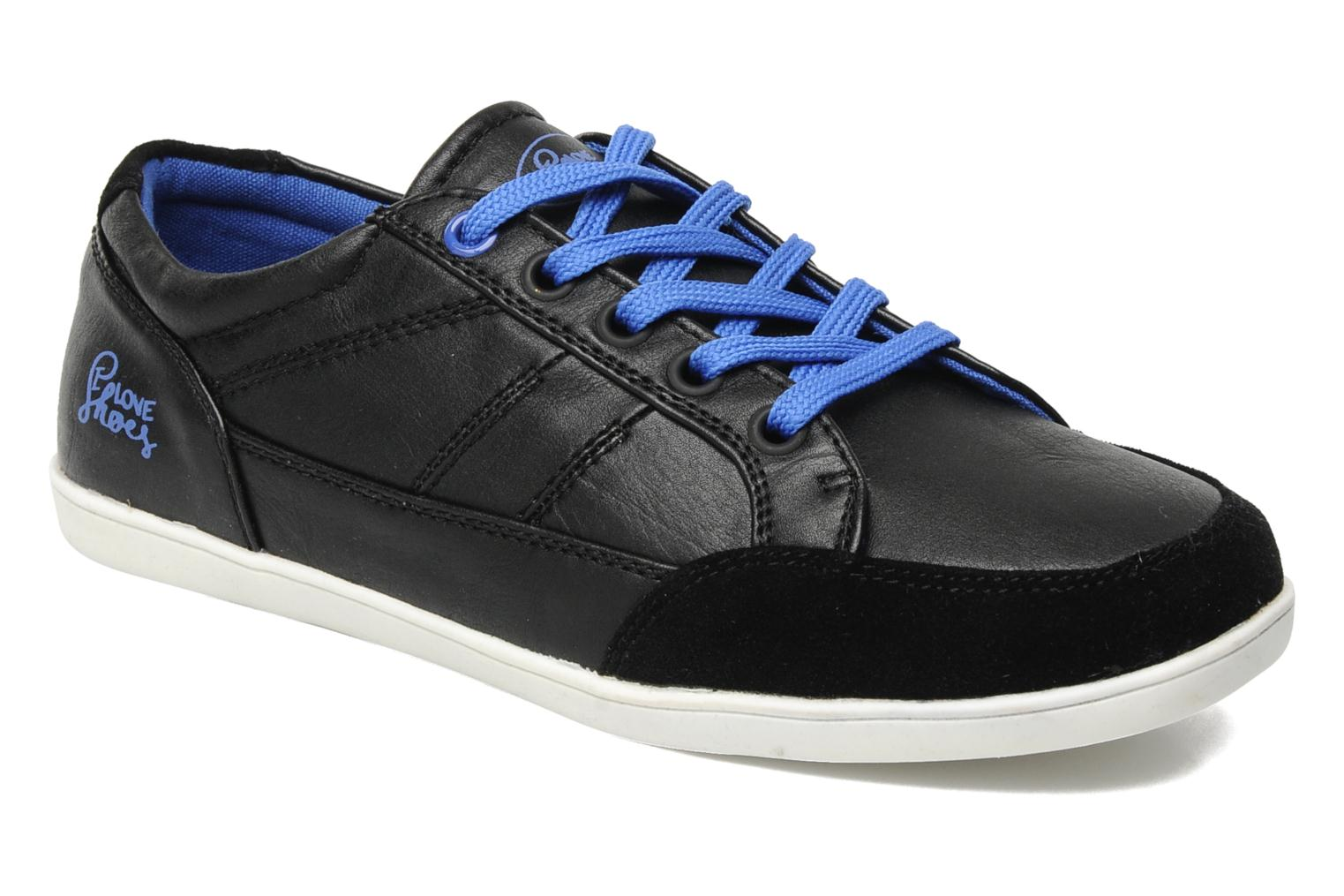 Trainers I Love Shoes Jicolas Black detailed view/ Pair view