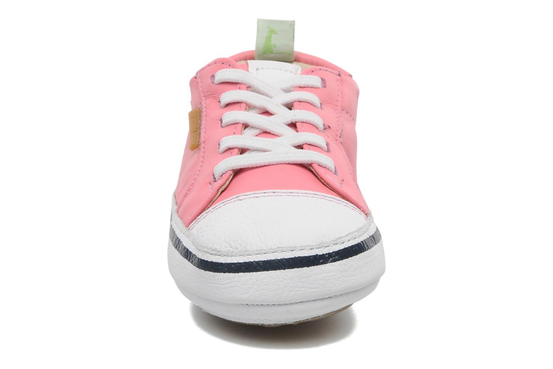 Sneaker Tip Toey Joey Funky rosa schuhe getragen