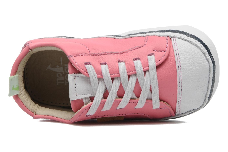 Sneaker Tip Toey Joey Funky rosa ansicht von links