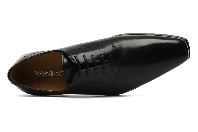 Chaussures à lacets Marvin&Co Partridge Noir vue gauche