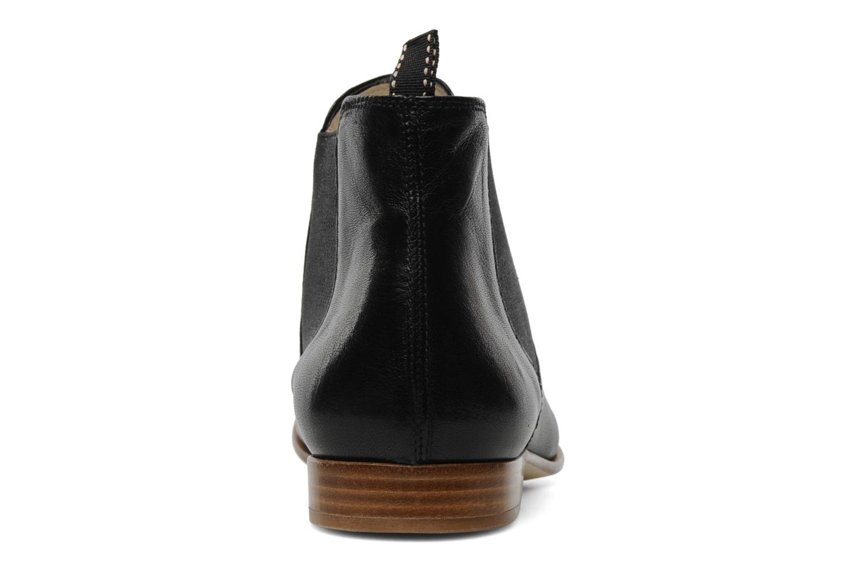 Bottines et boots Georgia Rose Parva Noir vue droite