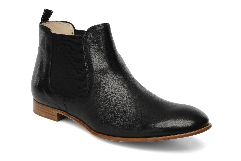 Bottines et boots Georgia Rose Parva Noir vue détail/paire