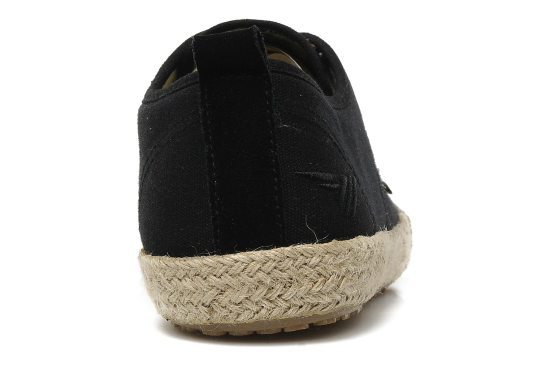 Sneaker Gola Vulture schwarz ansicht von rechts