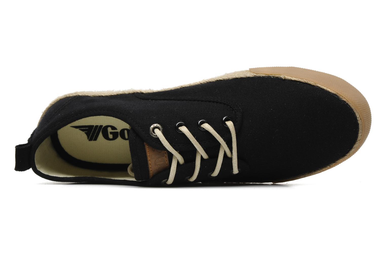 Sneaker Gola Vulture schwarz ansicht von links