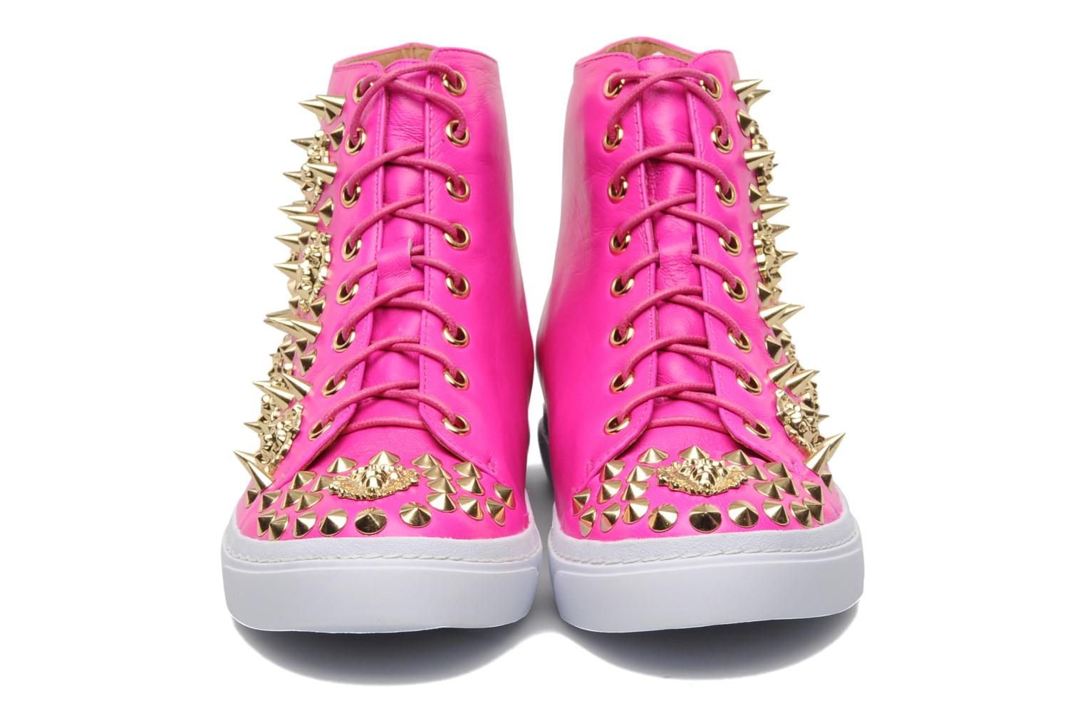 Deportivas Jeffrey Campbell Adams Lion Rosa vista de frente