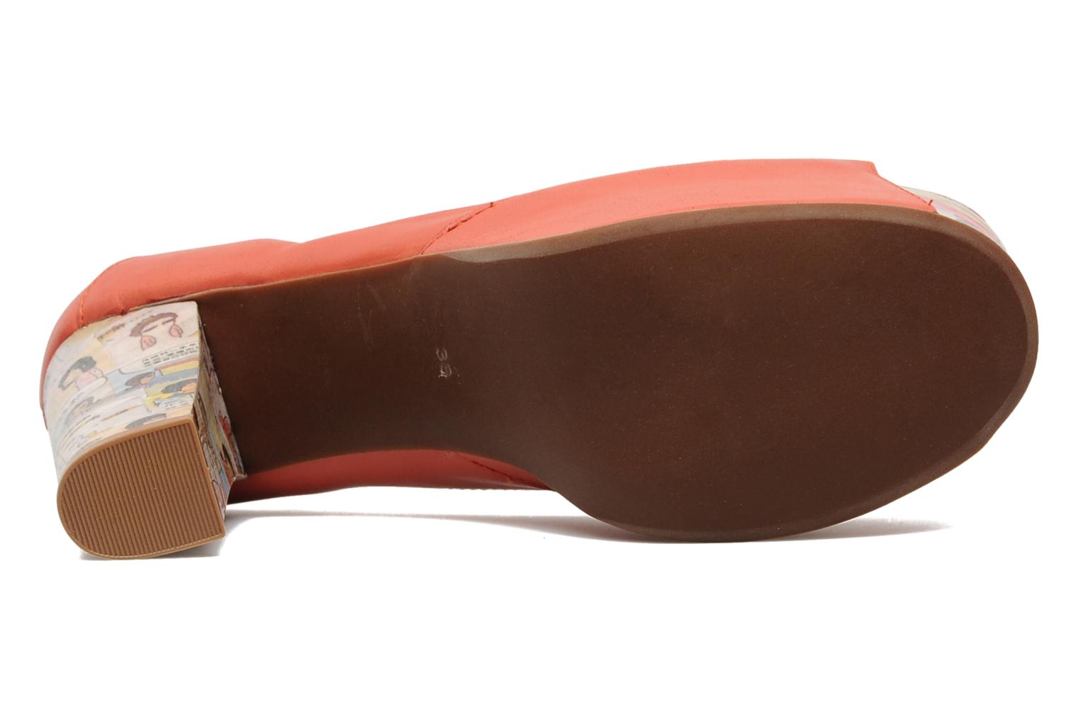 Sandaler Jeffrey Campbell Foxy - Cartoon Heel Orange se foroven
