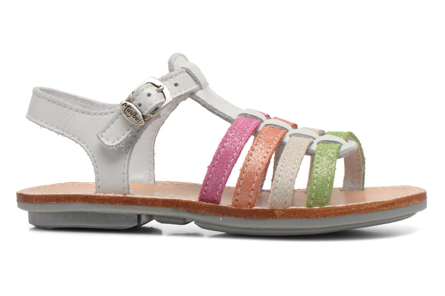 Sandals Minibel Chana White back view