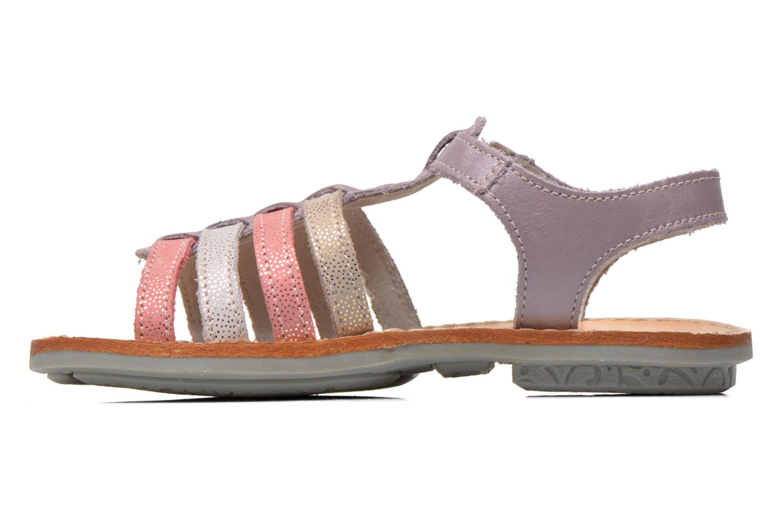 Sandales et nu-pieds Minibel Chana Violet vue face