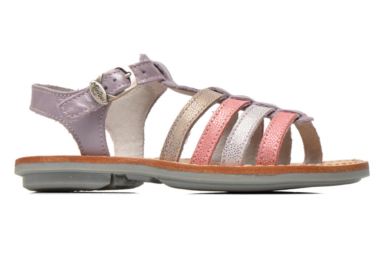 Sandales et nu-pieds Minibel Chana Violet vue derrière