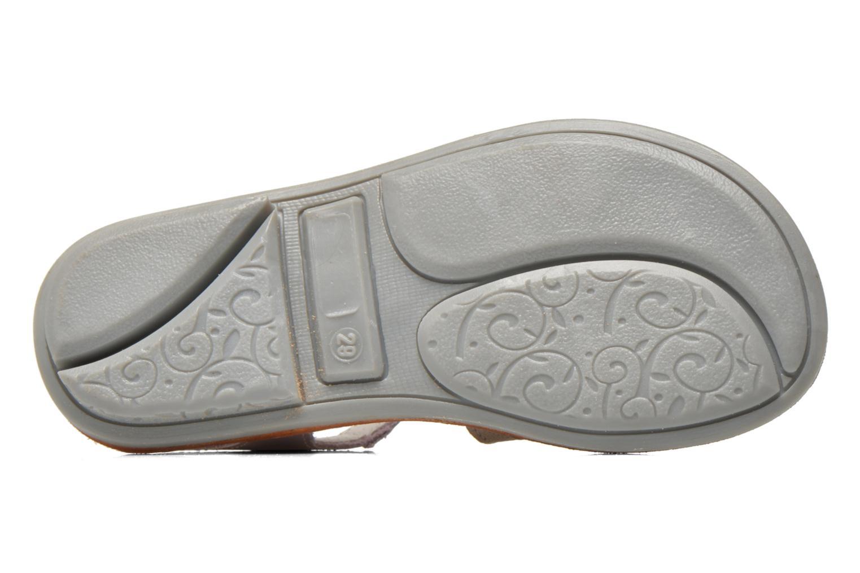 Sandalen Minibel Chana Paars boven