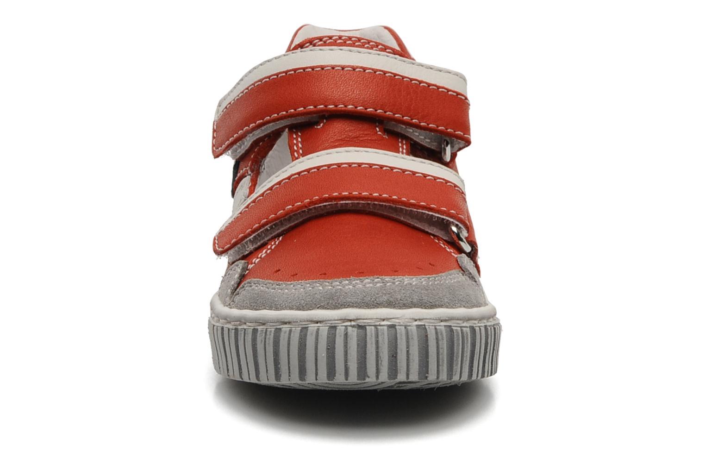 Baskets Romagnoli Nathan Rouge vue portées chaussures