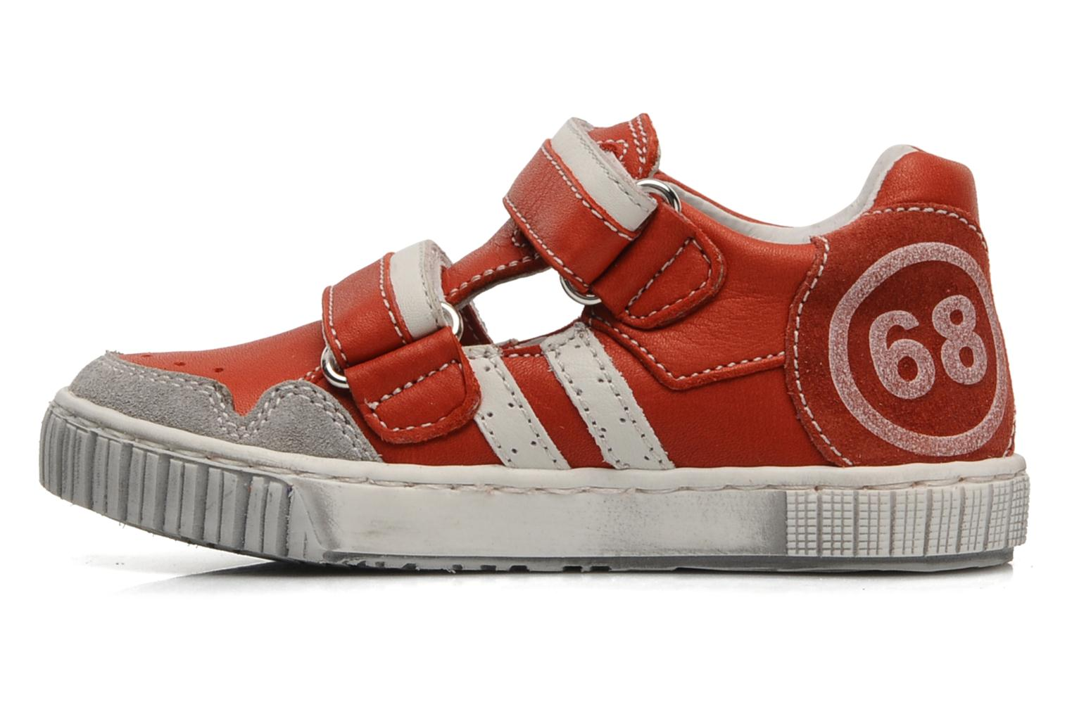 Trainers Romagnoli Nathan Red front view