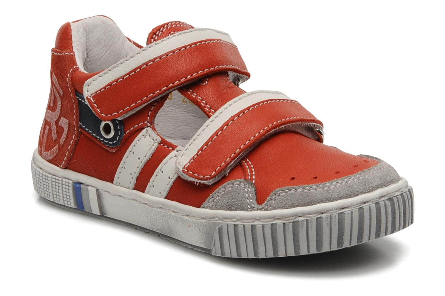 Trainers Romagnoli Nathan Red detailed view/ Pair view