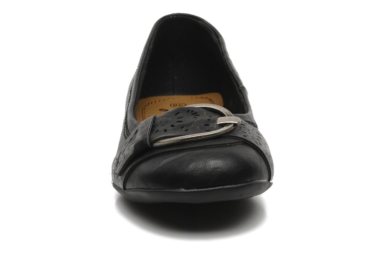 Ballerines I Love Shoes Suzette Noir vue portées chaussures