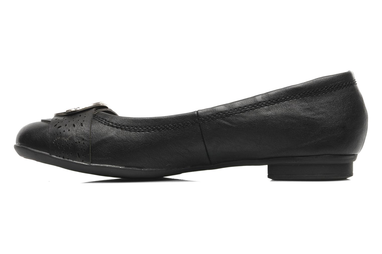 Ballerines I Love Shoes Suzette Noir vue face