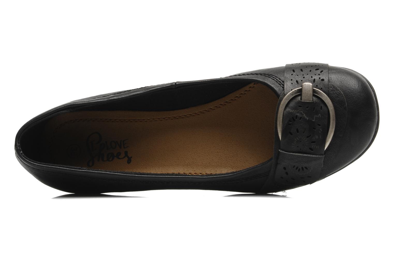 Ballerines I Love Shoes Suzette Noir vue gauche