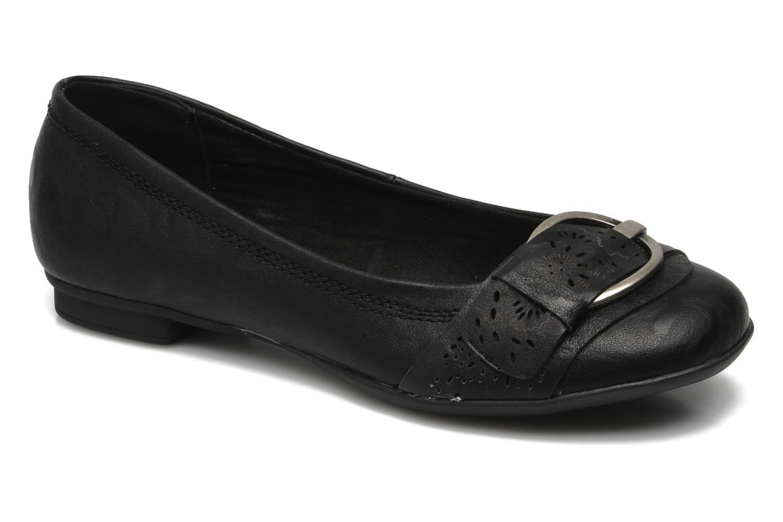 Ballerines I Love Shoes Suzette Noir vue détail/paire