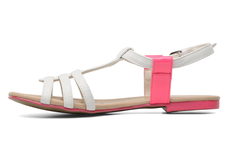 Sandalen I Love Shoes Summer weiß ansicht von vorne