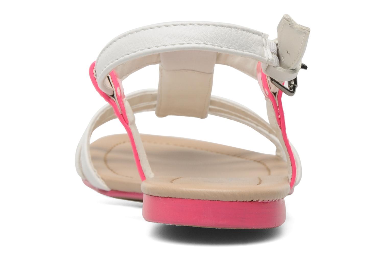 Sandalen I Love Shoes Summer weiß ansicht von rechts