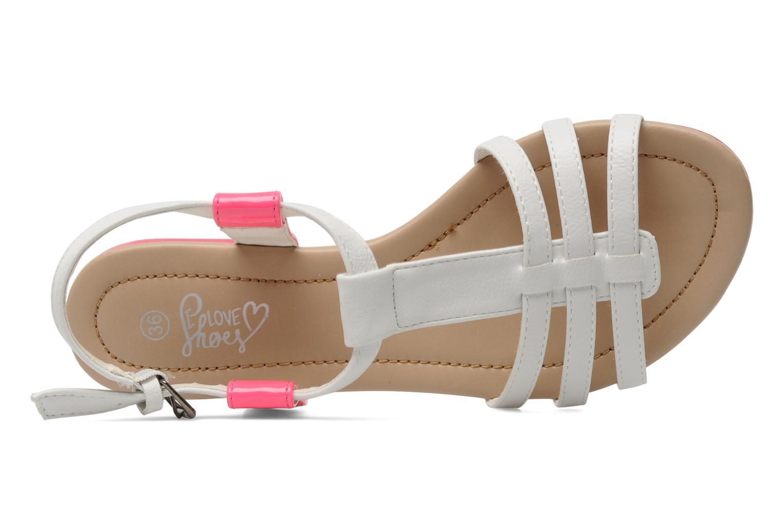 Sandalen I Love Shoes Summer weiß ansicht von links