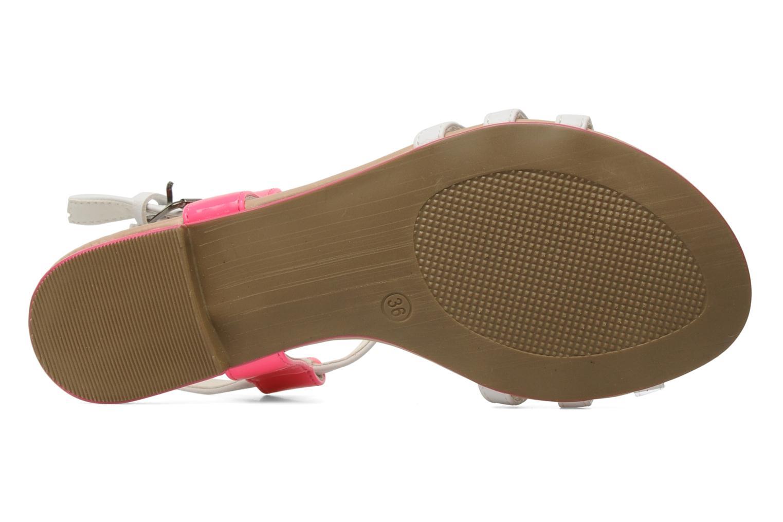 Sandalen I Love Shoes Summer weiß ansicht von oben