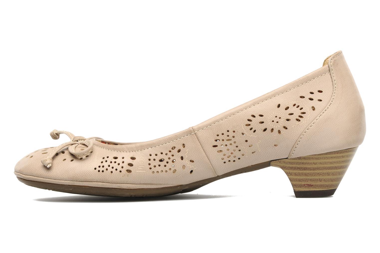Escarpins I Love Shoes Sultana Beige vue face