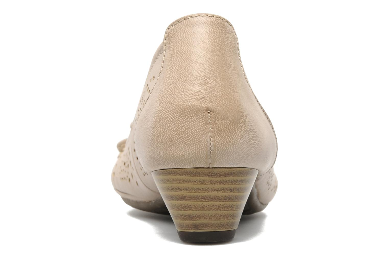Escarpins I Love Shoes Sultana Beige vue droite