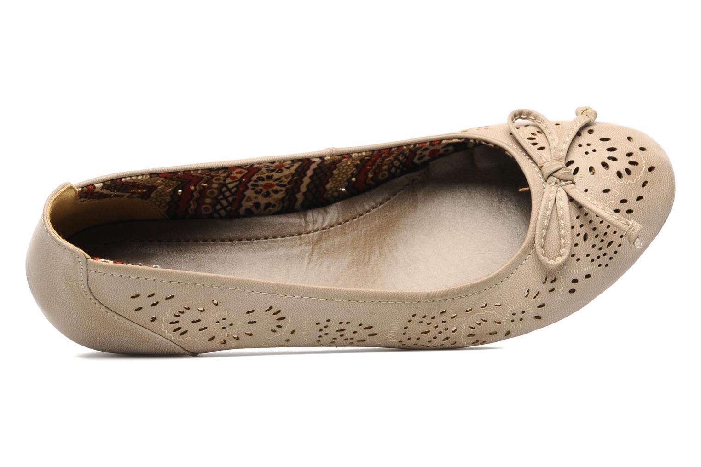 Escarpins I Love Shoes Sultana Beige vue gauche