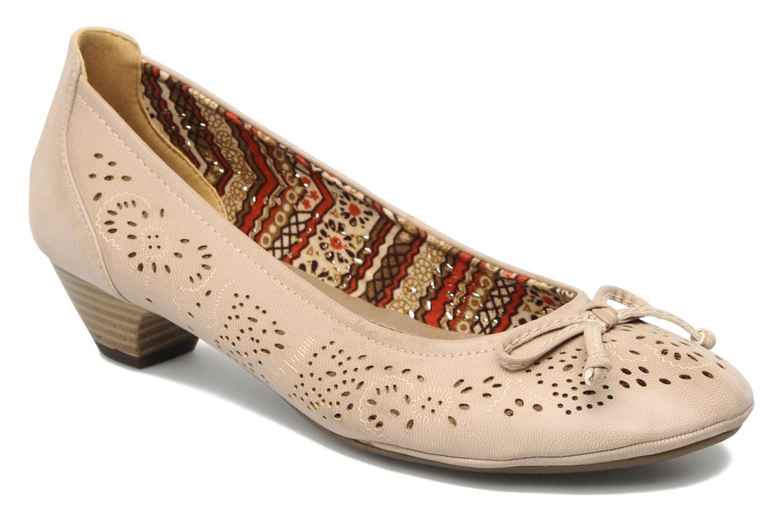 Escarpins I Love Shoes Sultana Beige vue détail/paire