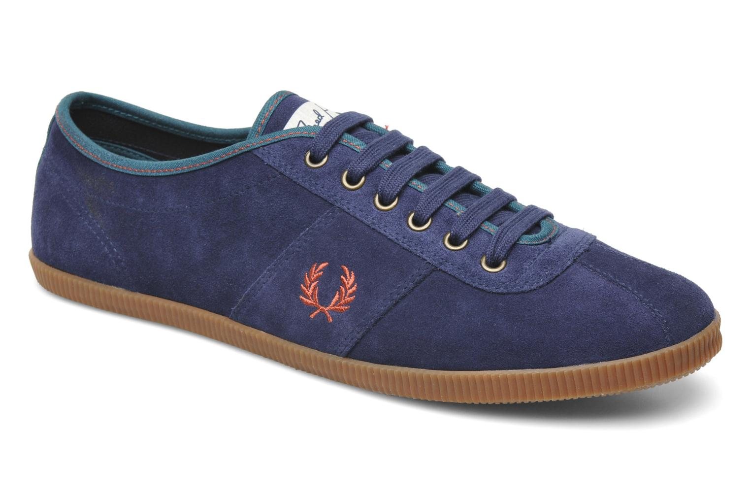 Sneaker Fred Perry HAYES UNLINED SUEDE blau detaillierte ansicht/modell