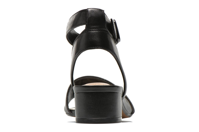 Sharna Balcony Black leather