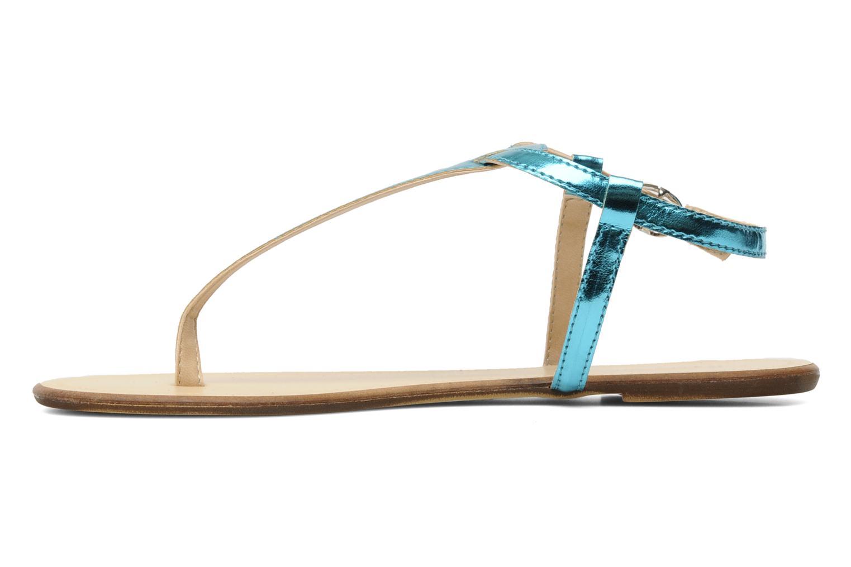 Sandales et nu-pieds Georgia Rose Lufluo Bleu vue face