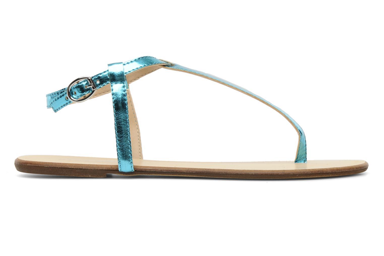 Sandales et nu-pieds Georgia Rose Lufluo Bleu vue derrière