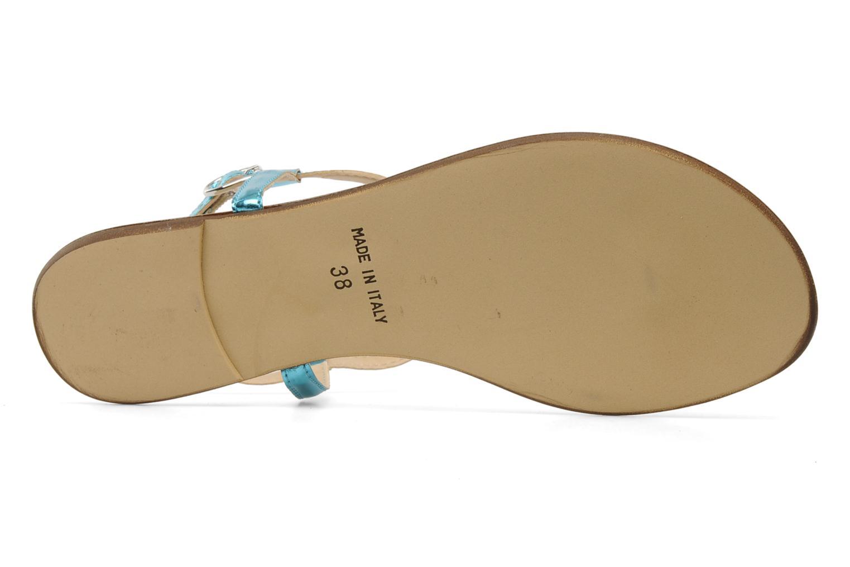 Sandales et nu-pieds Georgia Rose Lufluo Bleu vue haut