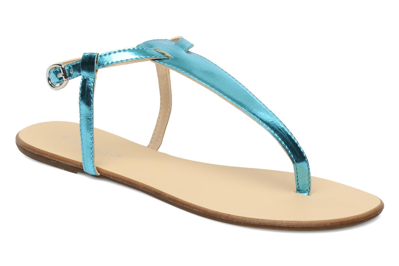 Sandales et nu-pieds Georgia Rose Lufluo Bleu vue détail/paire