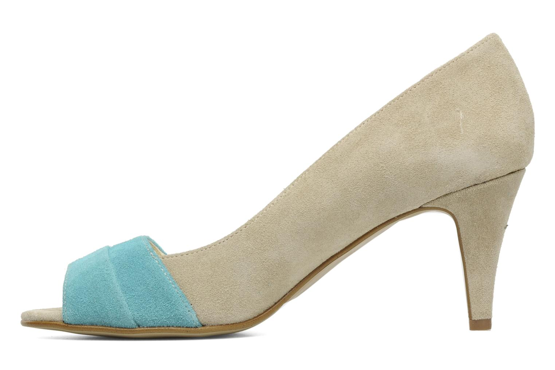 High heels Georgia Rose Luisella Beige front view