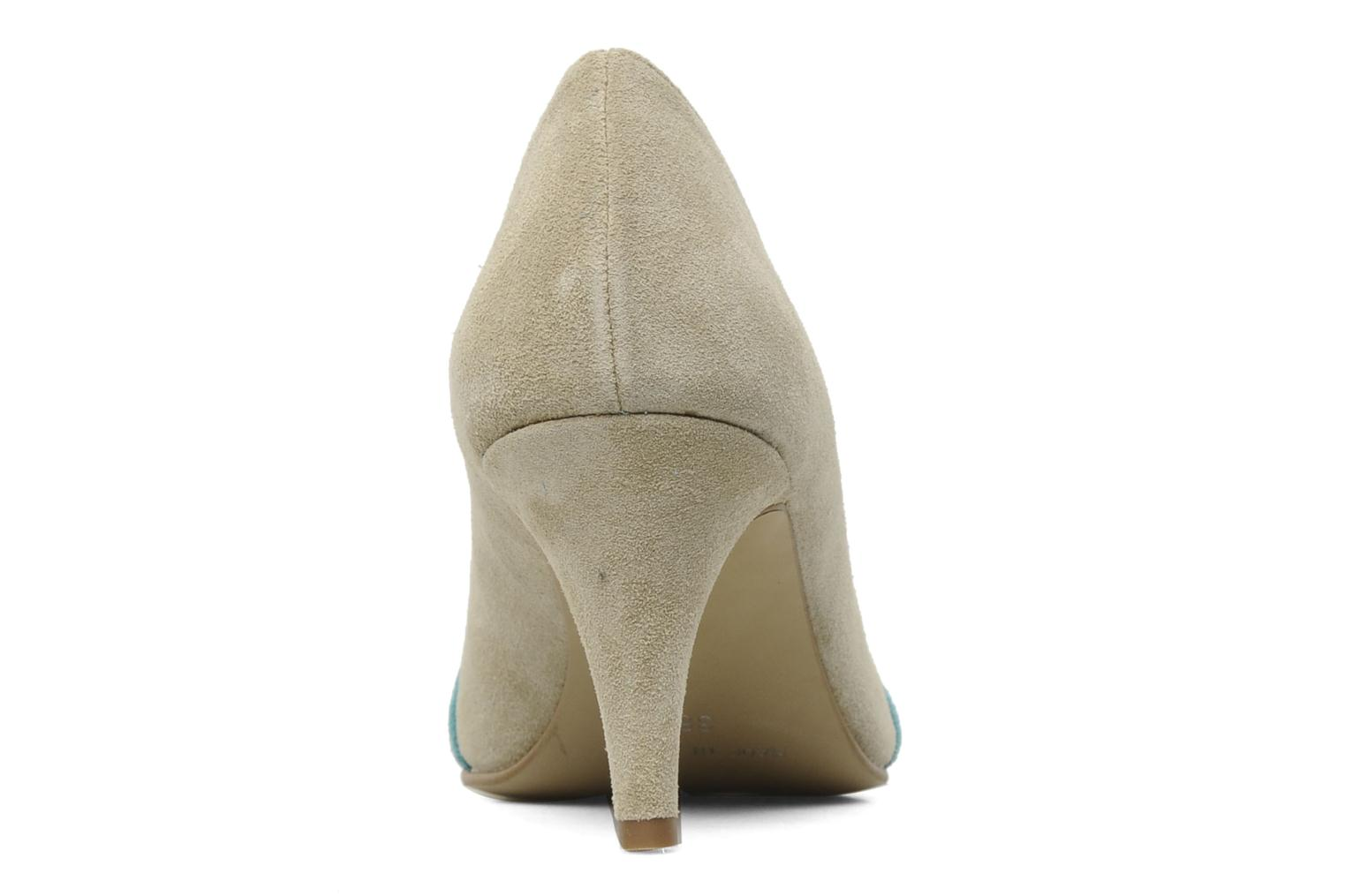 High heels Georgia Rose Luisella Beige view from the right