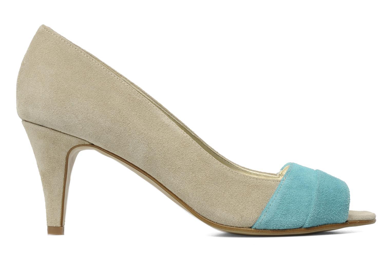 High heels Georgia Rose Luisella Beige back view