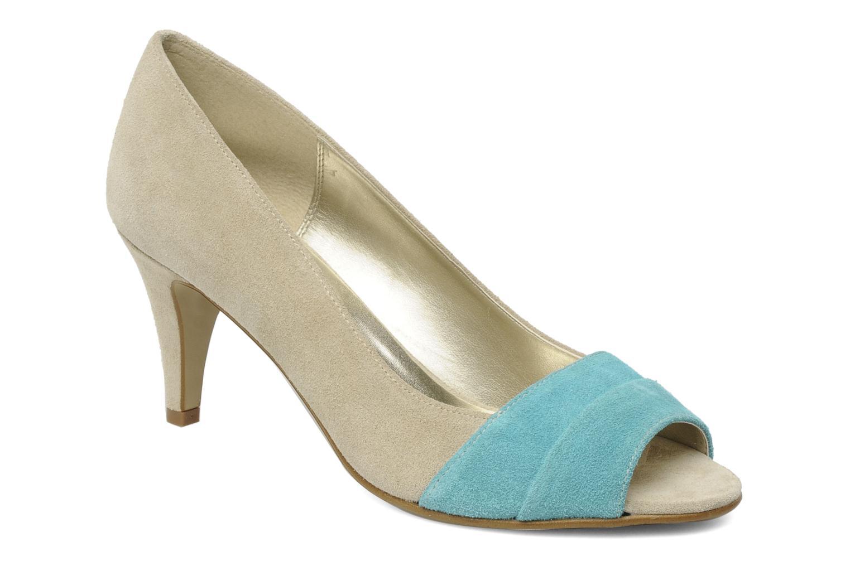 High heels Georgia Rose Luisella Beige detailed view/ Pair view