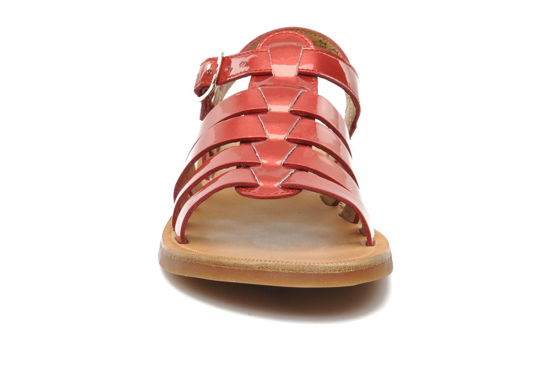 Sandalen Pom d Api Plagette Strap rosa schuhe getragen
