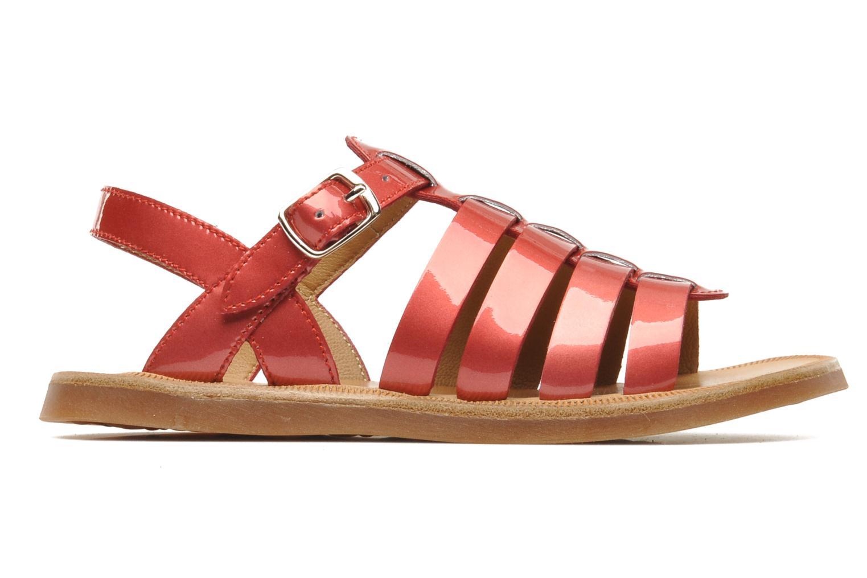 Sandals Pom d Api Plagette Strap Pink back view
