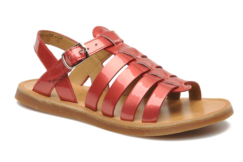 Sandalen Pom d Api Plagette Strap rosa detaillierte ansicht/modell