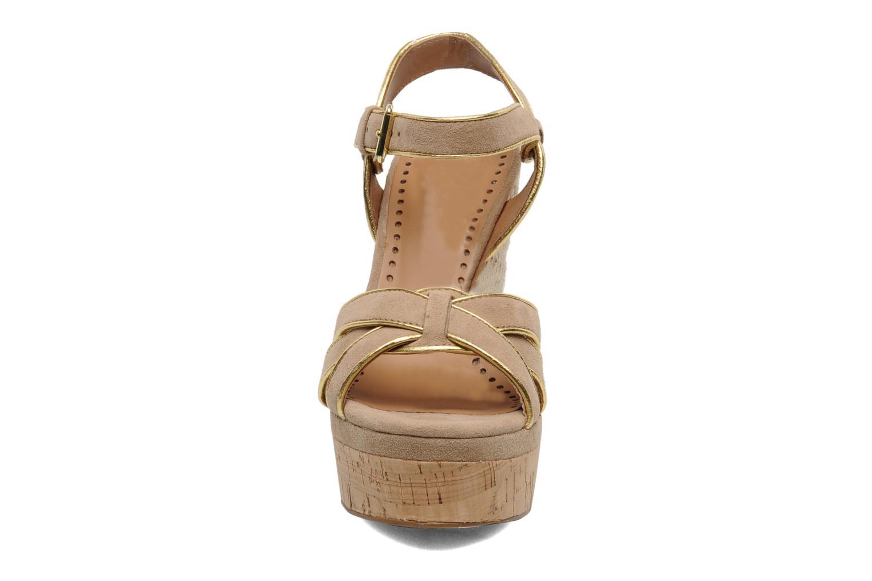 Sandales et nu-pieds Ash Grazia Bis Beige vue portées chaussures