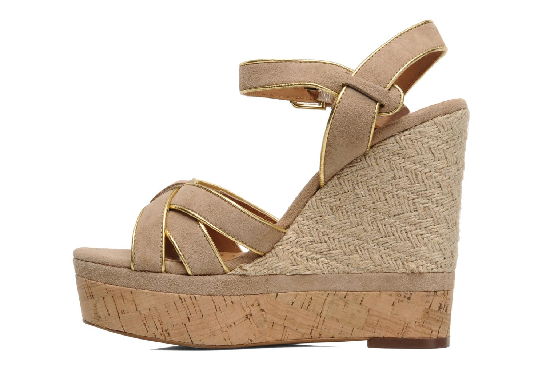 Sandales et nu-pieds Ash Grazia Bis Beige vue face
